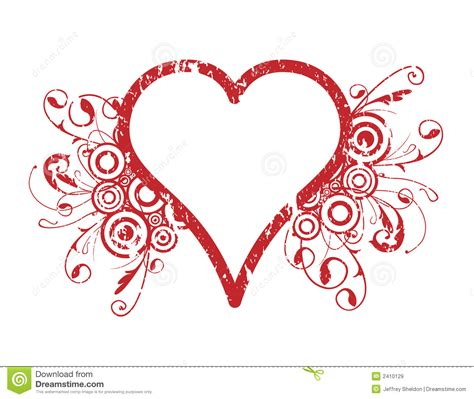 background design heart heart design stock vector image of curving circles
