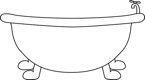 bathtub outline black and white bathtub clip art black and white bathtub