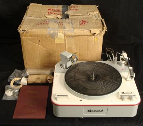 Garrard Type A Turntable garrard auto turntable type a record player in box