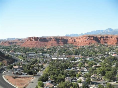 the cliff inn view from room st george utah picture of inn on the