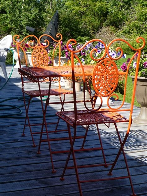 Patio Master Outdoor Furniture by 25 Best Ideas About Iron Patio Furniture On
