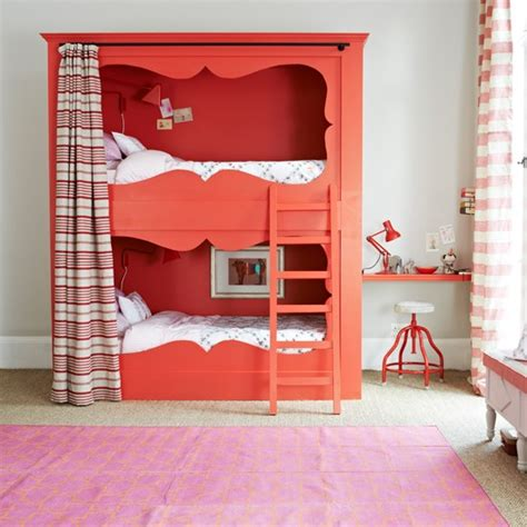 Bedrooms With Bunk Beds by And White Bedroom With Bunk Bed Bedroom Decorating