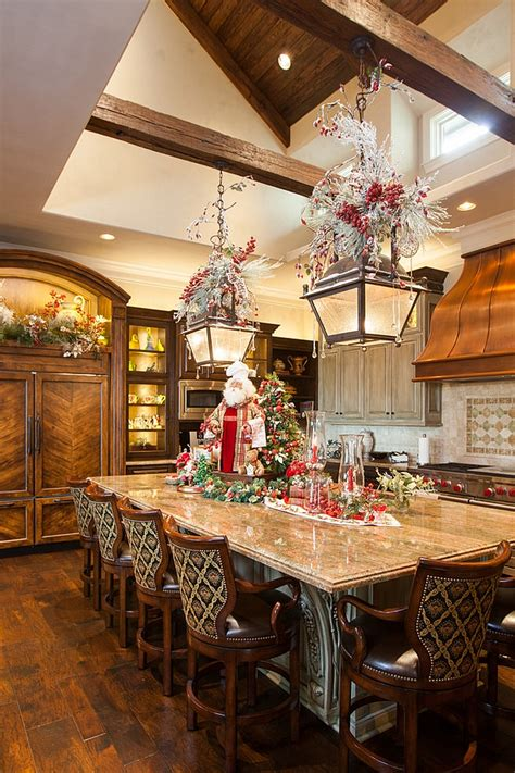 decorating a kitchen island decorating ideas that add festive charm to your