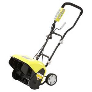 home depot electric snow blower ryobi 16 in 10 electric snow blower ryac801 the