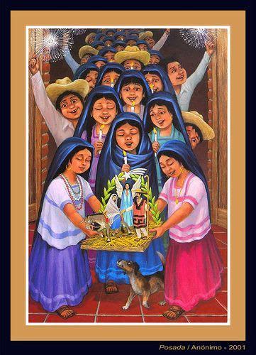 imagenes de navidad mexicana im 225 genes y tradiciones de la navidad mexicana posadas