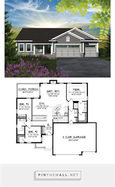 craftsman ranch floor plans best 25 craftsman ranch ideas on ranch style