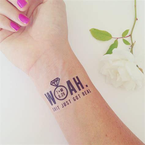 custom temporary wedding tattoo idea kati s blog