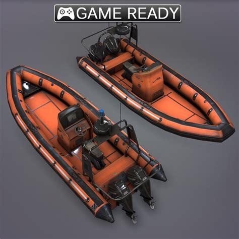 rib boat graphics 3d rib boat model