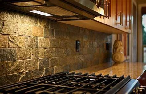 rustic backsplash tile 25 best ideas about rustic hickory cabinets on pinterest
