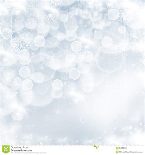 christmas background with white snowflakes stock