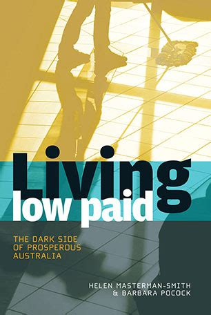 paid to live the books living low paid helen masterman smith and barbara pocock