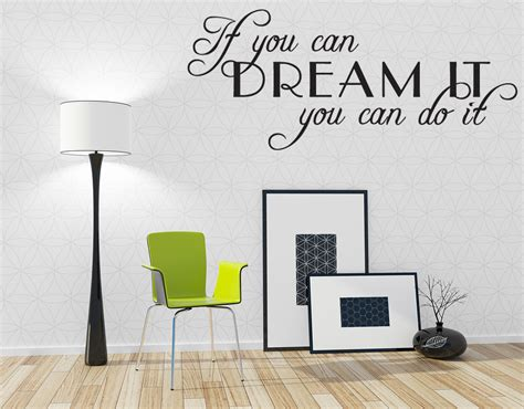 inspirational wall stickers if you can do it inspirational wall decal vinyl sticker quote 28 quot ebay