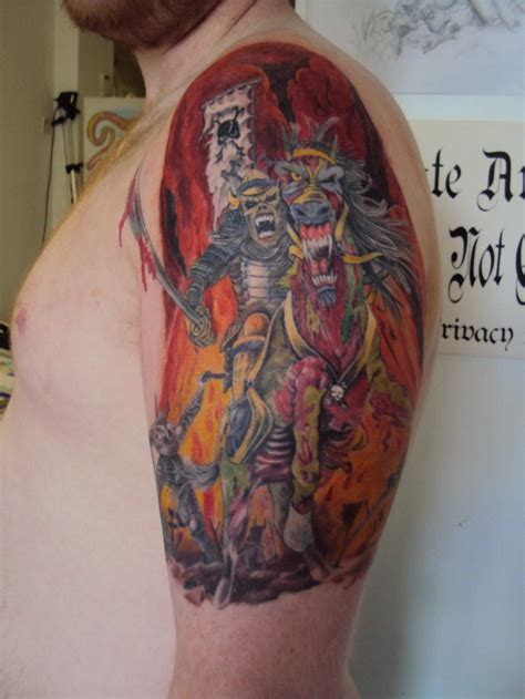 iron street tattoo great iron maiden designs nothing but