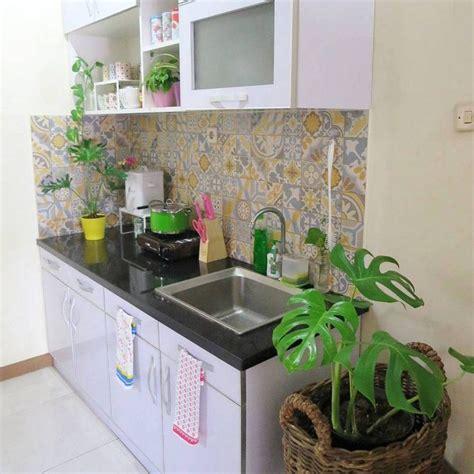 ide model keramik dinding dapur dapur kontemporer