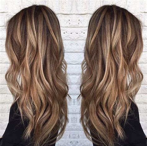 long brown hairstyles with parshall highlight how to go blonde highlights on medium brown hair by sarah peck