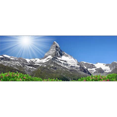 tete de lit montagne stickers t 234 te de lit paysage montagne d 233 co stickers