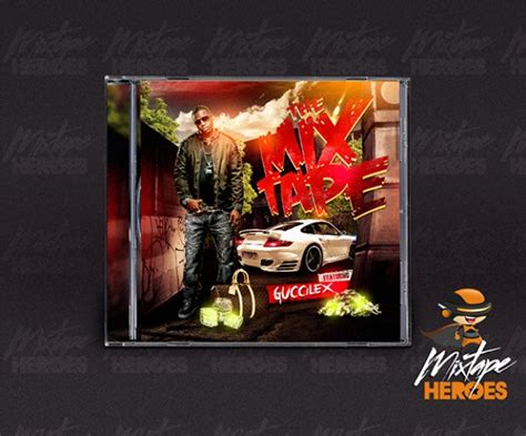 Cd Mixtape Cover Template Psd File Free Download Mixtape Psd Templates
