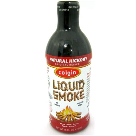 large hickory liquid smoke 472ml colgin buy online authentic american ingredients uk