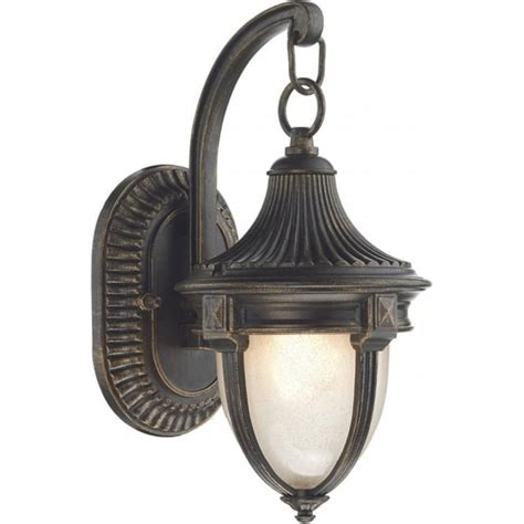 Small Traditional Outdoor Garden Wall Light In Black Gold Traditional Outdoor Wall Lights Uk