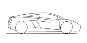 How To Draw Lamborghini Gallardo Step By Step How To Draw A Lamborghini Gallardo Junior Car Designer