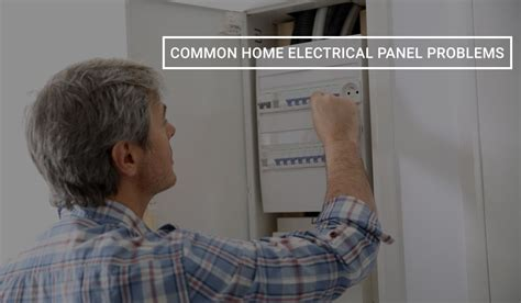 common home electrical panel problems wire craft