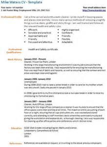 cv template cleaner http webdesign14 com