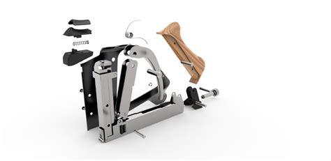 Frame Kacamata 0059 Gun 3 frame staple gun 3d model obj stp cgtrader