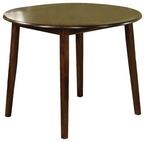 steve silver branson double drop leaf 42 inch round dining