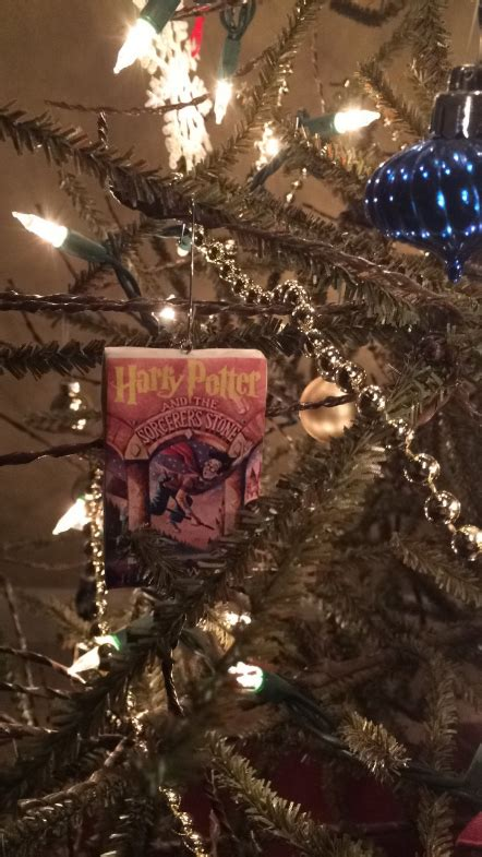 printable harry potter ornaments diy harry potter book christmas ornaments with free