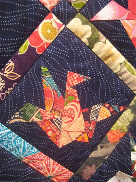 Origami Crane Quilt Pattern - quilt inspiration imagine world peace