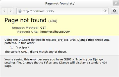 Django Tutorial Page Not Found | django by errors a different django tutorial django by