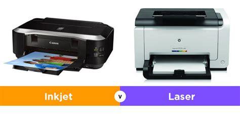 Printer Laser Inkjet apa perbedaan printer inkjet dan laser
