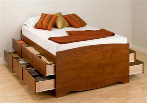bed frame with drawers size how to make a platform bed with storage drawers