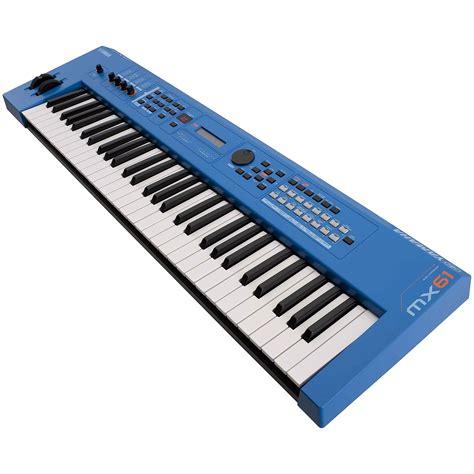 Keyboard Yamaha Synthesizer yamaha mx61 ii bu 171 synthesizer
