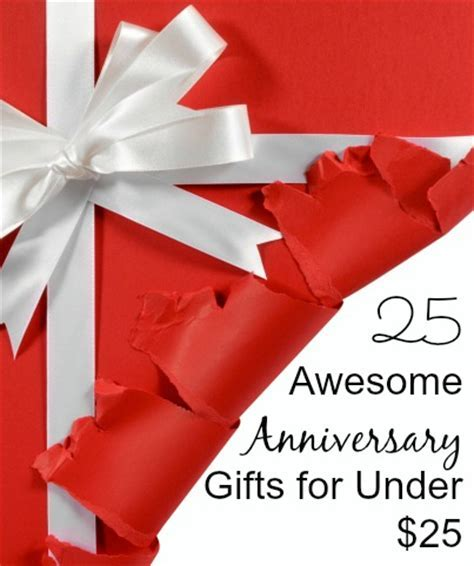 25 Awesome Anniversary Gift Ideas for Under $25   Happy
