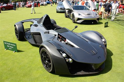 Bac Mono Usa by The Motoring World Usa The Bac Mono Is On Display At