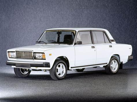 Lada Evolution Russia Pulls The On Lada 2107 Autoevolution