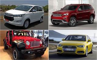 pictures of new cars new car launches in india in august 2016 ndtv carandbike
