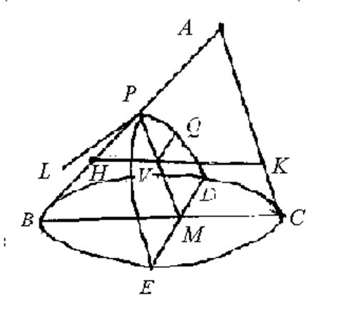 history of conic sections conic sections in ancient greece