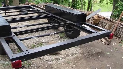 how to build a boat trailer youtube diy part 3 trailer diy build tandem axle trailer youtube
