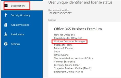 Office 365 Turn Conversation Ocm Add In Not Available For Office 365 Business Premium