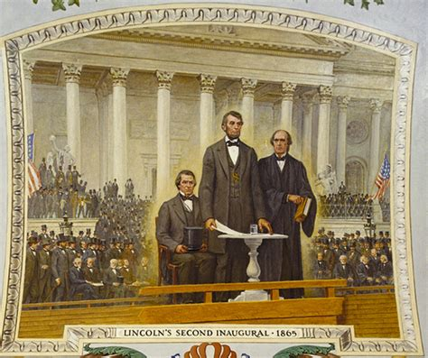 all the presidents tables abraham lincoln s inaugural lincoln s inauguration u s capitol historical society