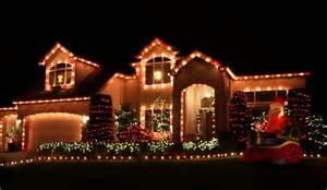 pictures of christmas decorations in homes residential