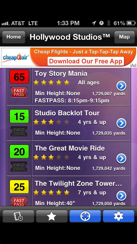 best world time app fastpass return times now available on our disney world