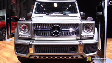 mercedes benz g class interior 2015 2015 mercedes benz g class g65 amg exterior and interior