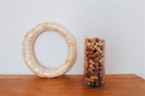 how to make a wine cork wreath an american in rome