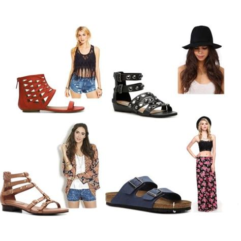 nine west tertia sandal quot boho chic style quot by thefashionpoet on polyvore pintowin