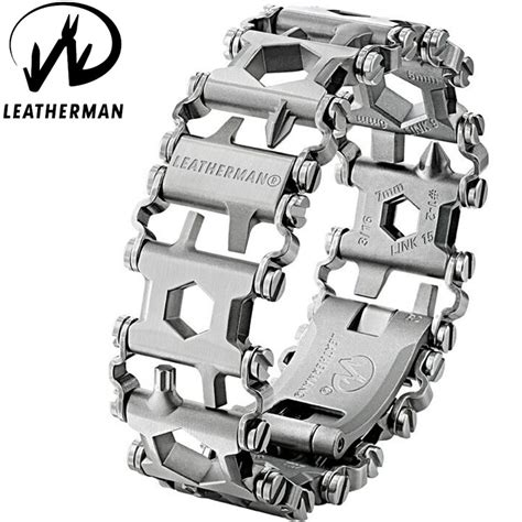 Leatherman Tread Stainless Steel With Box leatherman tread stainless steel bagnall and kirkwood