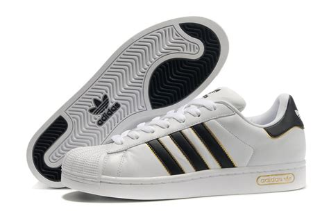 adidas superstar 2 5 shoes black gold on white the 3 stripes pink accents black