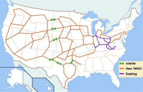 us national electric grid map i a map of the proposed power grid science technology